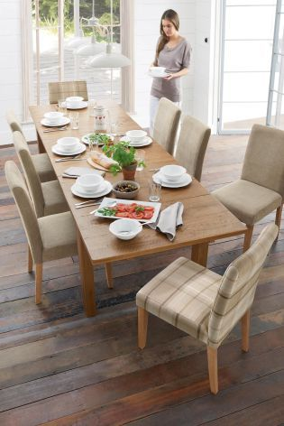 Hartford 6 10 Seater Large Extending Dining Table From Next