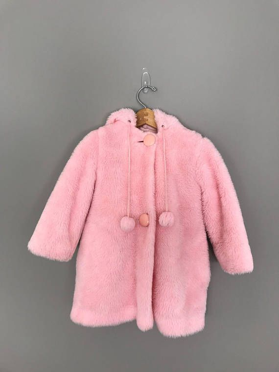 coat, snowsuit, baby, baby snowsuit, pink, fur, fluffy