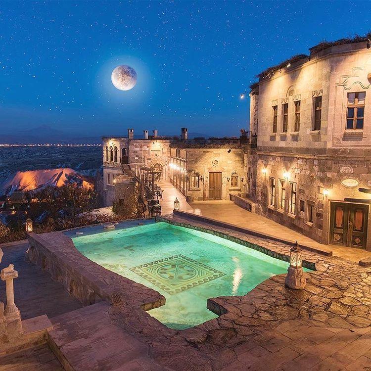Museum Hotel, Cappadocia, Turkey.