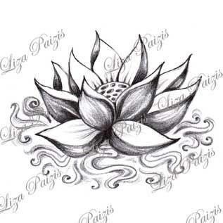 Resultat De Recherche D Images Pour Tatouage De Fleurs Avec Ombres