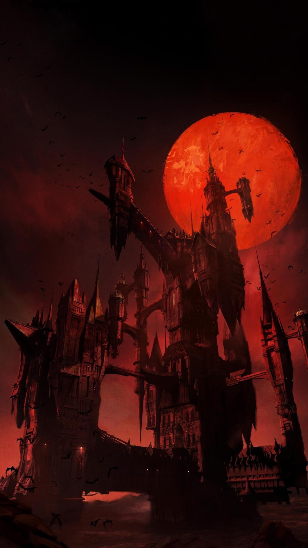 Castlevania Phone Wallpaper Moviemania Dark Fantasy Art Anime Wallpaper Wallpaper