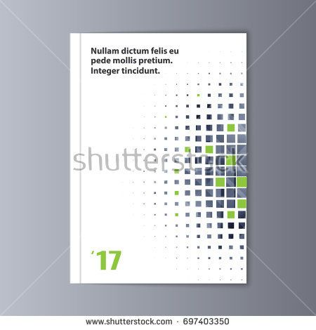 abstract flyer design background brochure template typo