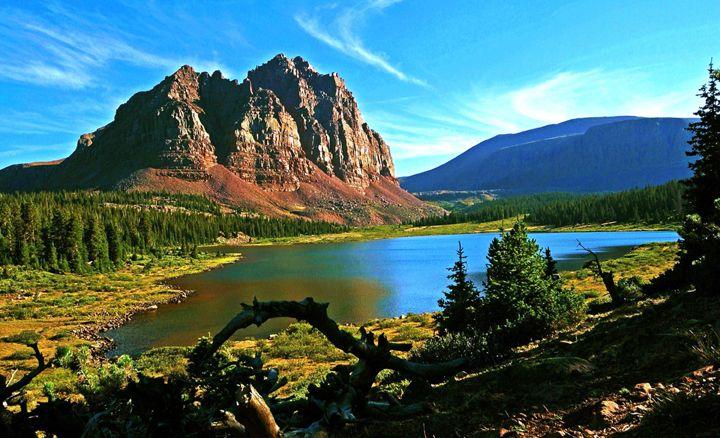 ~ Red Castle Lake ~ Utah's High Uintas.... It's Lower RC ...