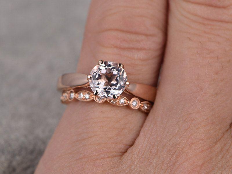 2pcs bridal ring setengagement ring14k18k