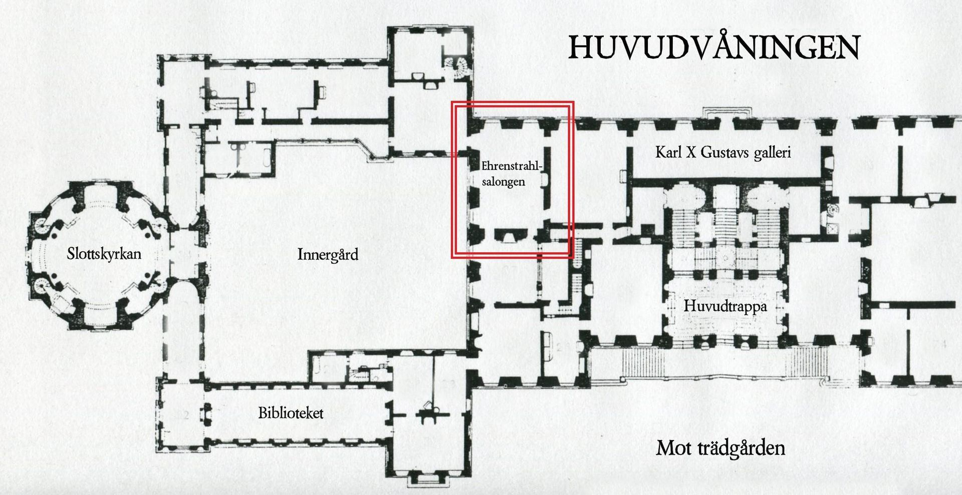 Category Drottningholm Architectural Drawings Architecture Drawing How To Plan Floor Plans