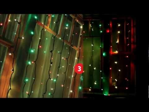 3 channel chasing led christmas light system