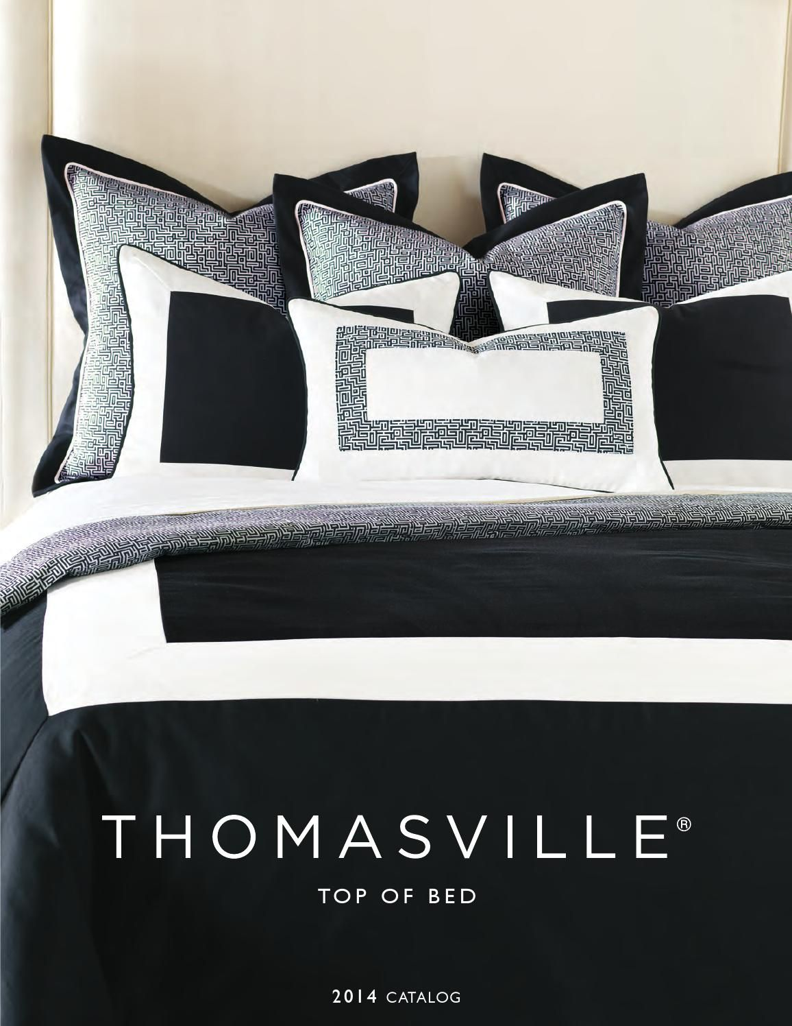 Thomasville Top Of Bed Catalog Top Of Bed Bed Bedding Catalogs