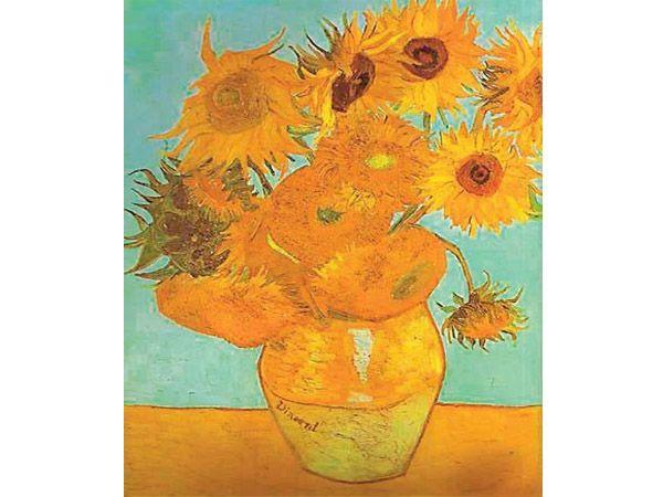 158058 - Puzzle Los Girasoles, Van Gogh, 1000 piezas, Ravensburger