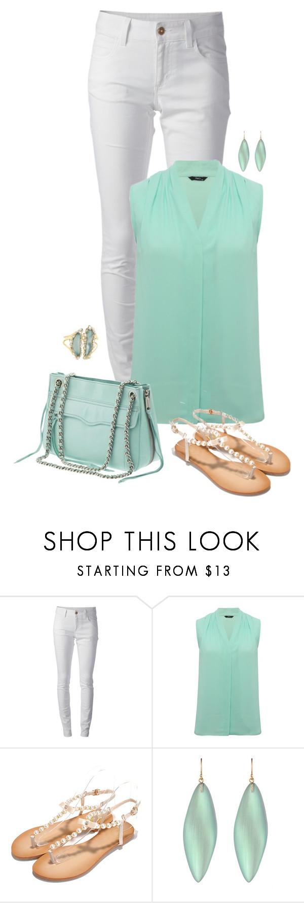 """Aqua Pura"" by seafreak83 ❤ liked on Polyvore featuring Gucci, M&Co, Rebecca Minkoff, Alexis Bittar and jeans"