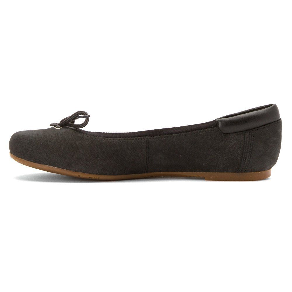 Timberland Womens Ellsworth 6 Inch Ballerina FlatBlack NubuckUS 5.5 M      See this great product. (This is an affiliate link)  TimberlandCasualShoes dd9a508755