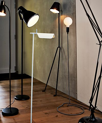 Buy john lewis the basics brandon floor lamp black from our floor lamps range at john lewis