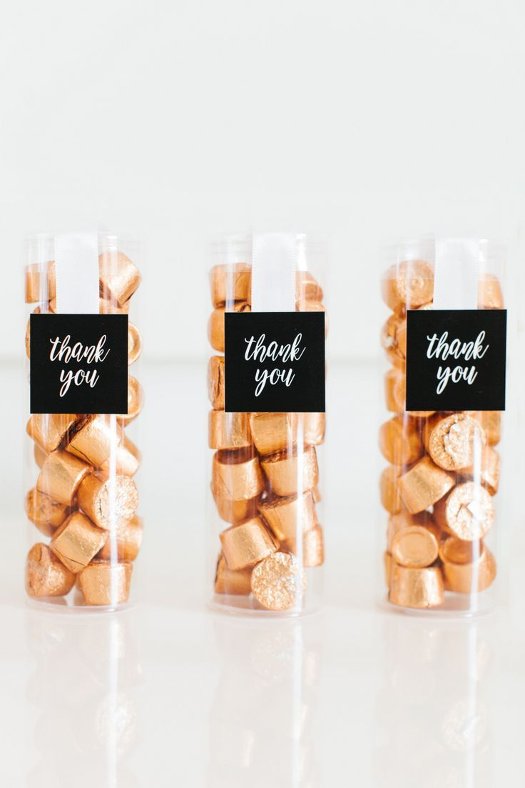 3 GORGEOUS WEDDING FAVOR IDEAS FEATURING HERSHEY\'S
