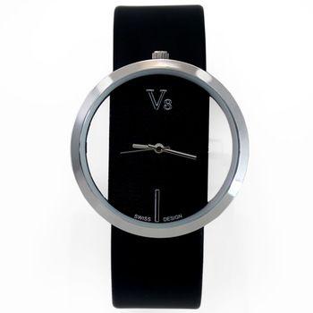 Идеальный черный изысканный полые наберите мода кварцевый браслет наручные часы подарок для женщин дамская девушки женский