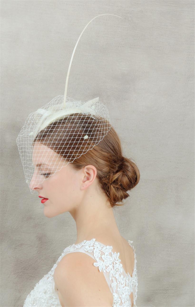 veils wedding vintage new fashion women lady kentucky derby