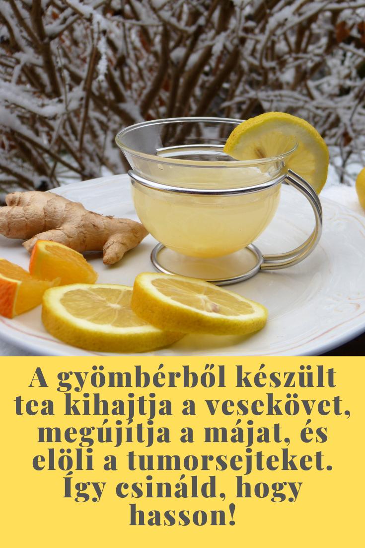 vesekő kihajtó tea