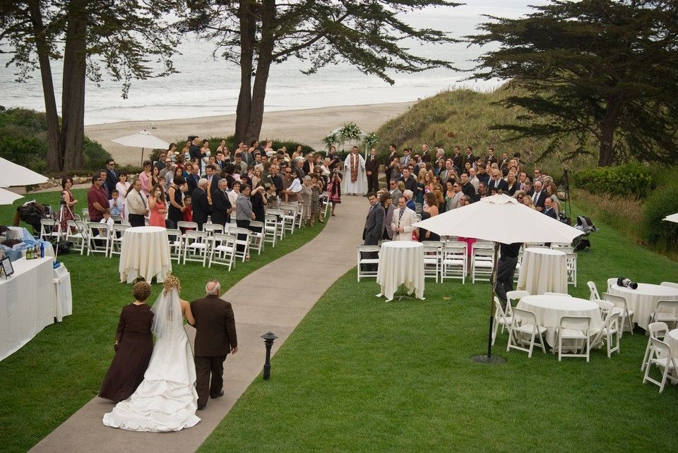 Ceremony At Seascape Resort Monterey Bay CA