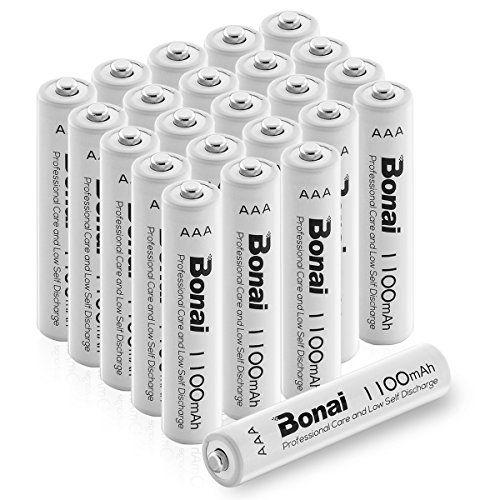 Aaa Rechargeable Battery Capacity