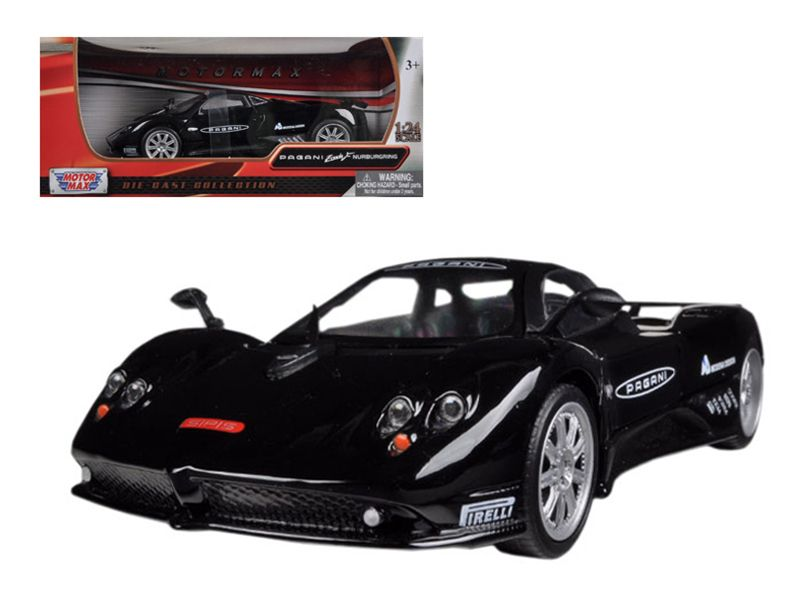 Ordinaire Pagani Zonda F Nurburgring Black 1/24 Diecast Car Model By  Motormax Brand New