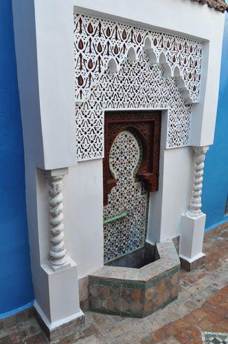 fontaine exterieure interieur marocain pinterest. Black Bedroom Furniture Sets. Home Design Ideas