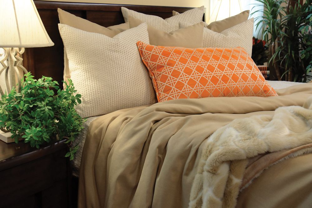 Ryan Duvet Bed Set K R Interiors Sand Colored Linen Like Is The