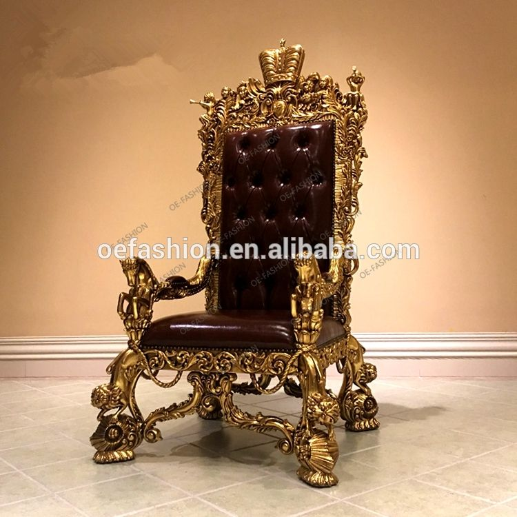 Throne Chair Beige Gold Throne Chair Upholstered Chairs Diy Chair