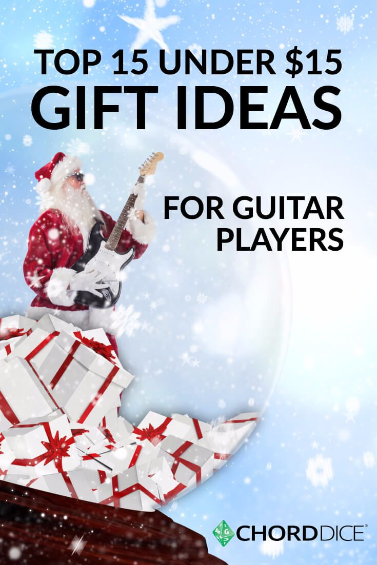 Top 15 Under 15 Gift Ideas For Guitar Players Gift Ideas For