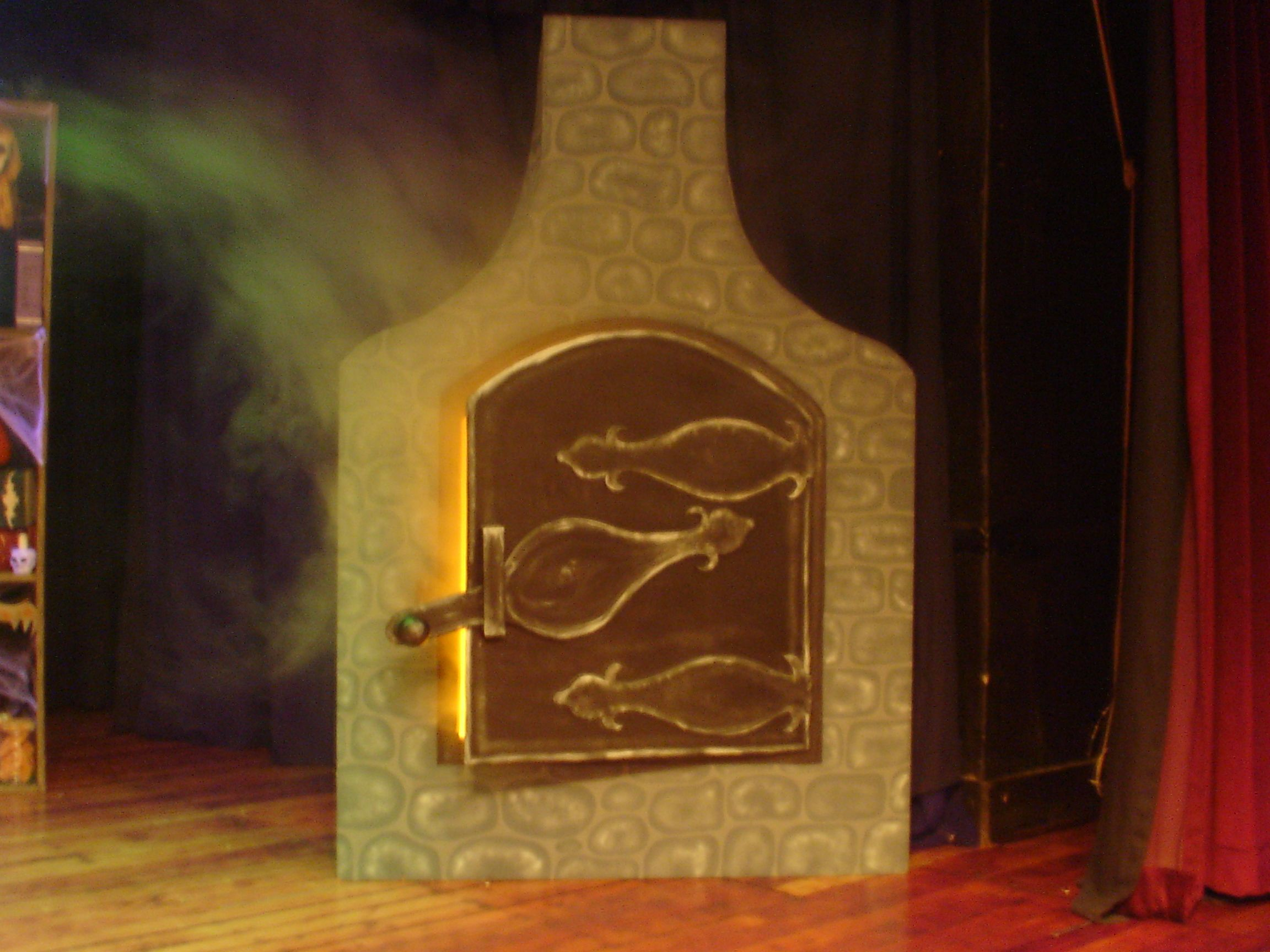 Oven Stage Prop Made For The Stage Production Of