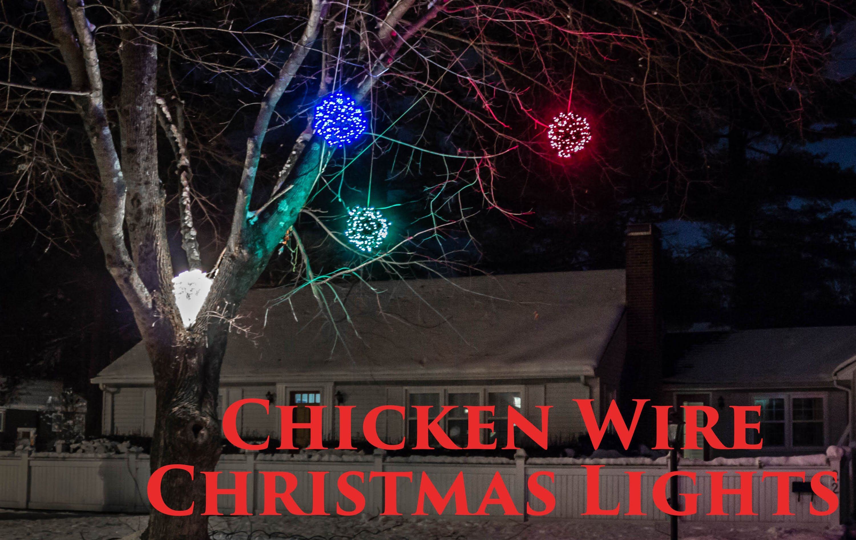 how to make lighted chicken wire christmas balls diy outdoor christmas