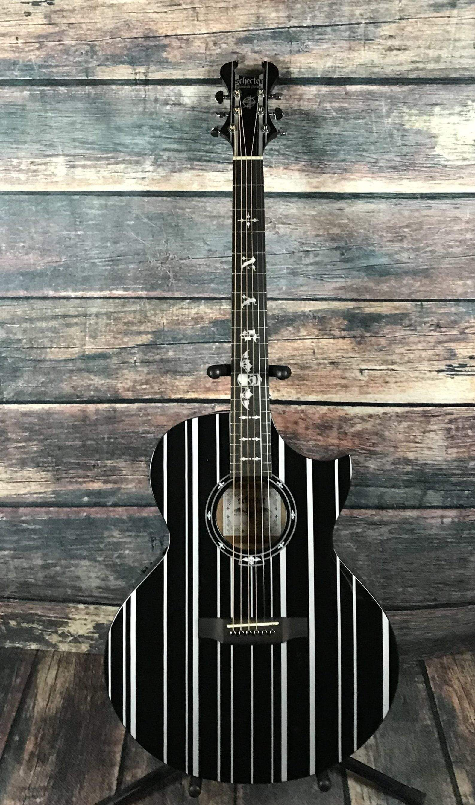 Schecter Synyster Gates Syn Ac Ga Sc Acoustic Electric Guitar 3700 Schecter Acoustic Electric Guitar Synyster Gates