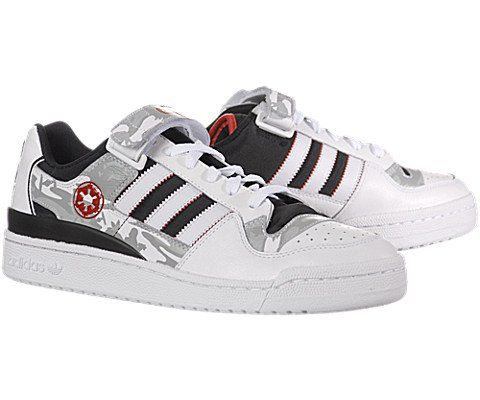 reputable site 4243b e9c8b Adidas x Star Wars Forum Low Hoth Blizzard Force | Sneaks ...