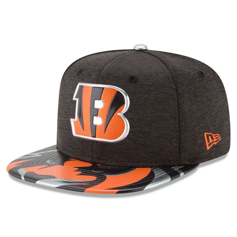low priced e6c8c 014dc ... france cincinnati bengals new era 2017 nfl draft on stage original fit  9fifty snapback adjustable hat
