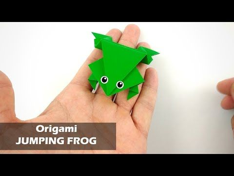 Origami Jumping Frog - How to Fold