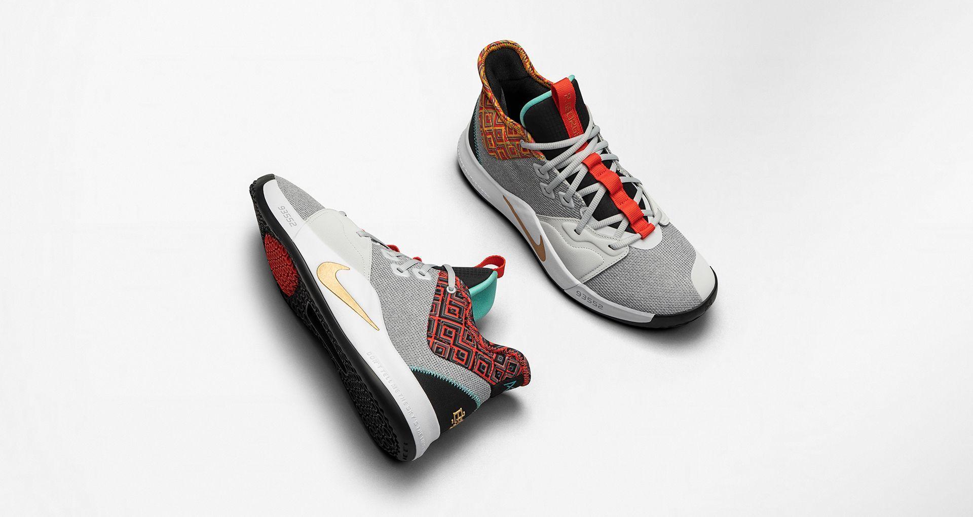 Nike shoes blue, Nike paul george