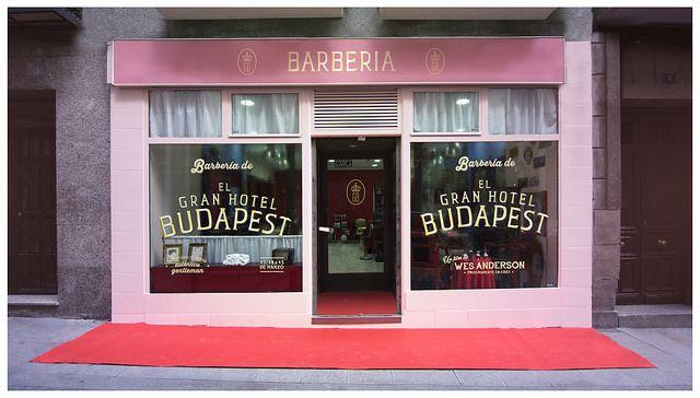 La Barberia De El Gran Hotel Budapest En Malasana Gran Hotel Budapest Budapest Hotel