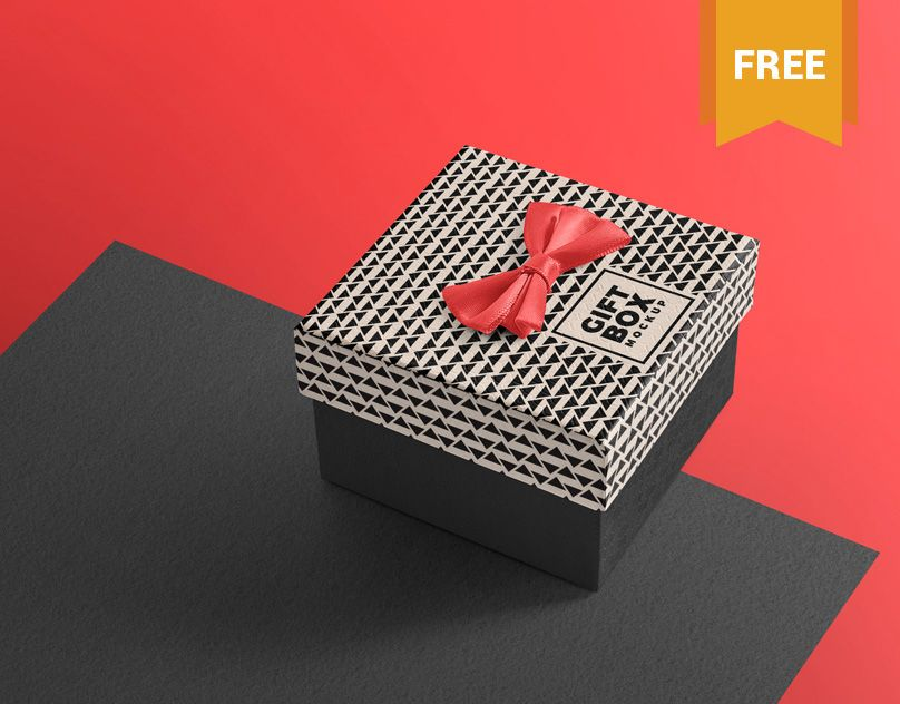 Download Vedi Questo Progetto Behance Delicate And Free Gift Box Mockup Https Www Behance Net Gallery 62577337 De Box Mockup Packaging Mockup Free Design Elements
