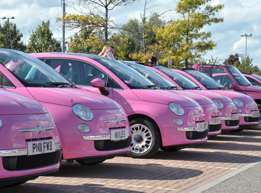 Pink Fiat 500 Fiat 500 Fiat 500 Pink Fiat 500 Cabrio Fiat