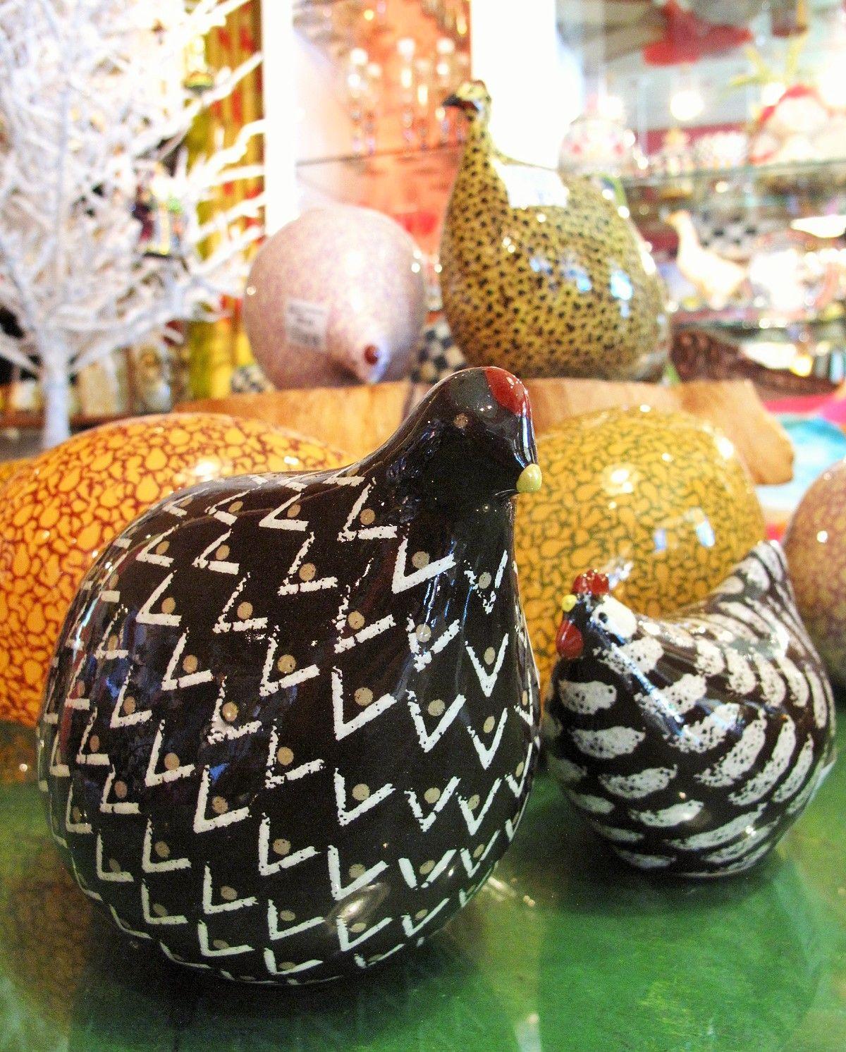 Cutest little guine hens guineahens ceramic ohkays