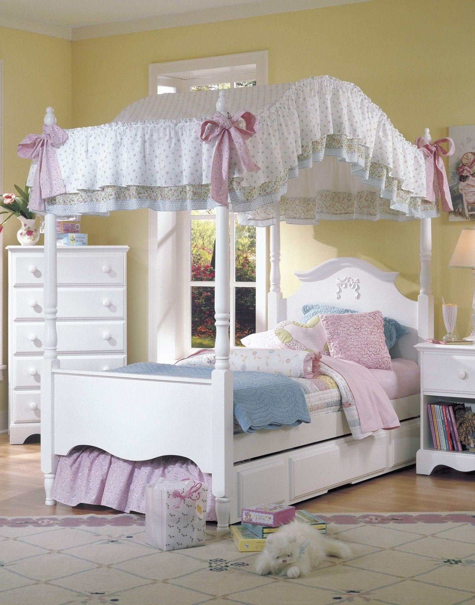 Carolina Furniture Works, Inc. Carolina Cottage Princess Canopy Bed U0026  Reviews | Wayfair