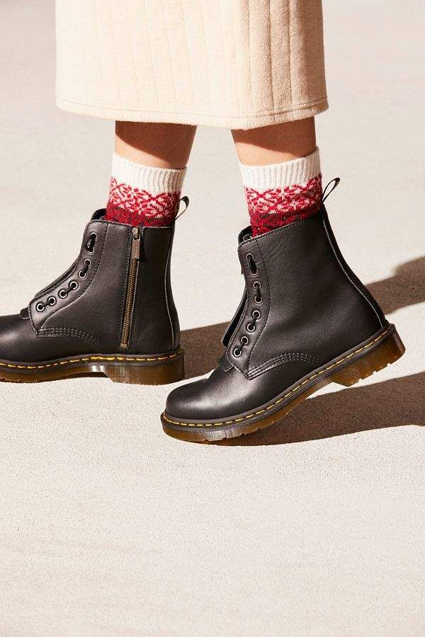 93c74756cb1 Dr. Martens 1460 Pascal Front Zip in 2019 | for da feet | Shoe boots ...