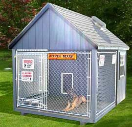 Maryland Kennels And Dog Houses By The Amish Sold And Delivered