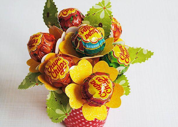 Lollipop flowers by Anski