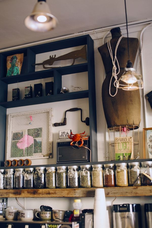 18ae788b5 Fantastic Interior at Trouble Coffee Shop in the Sunset District of ...