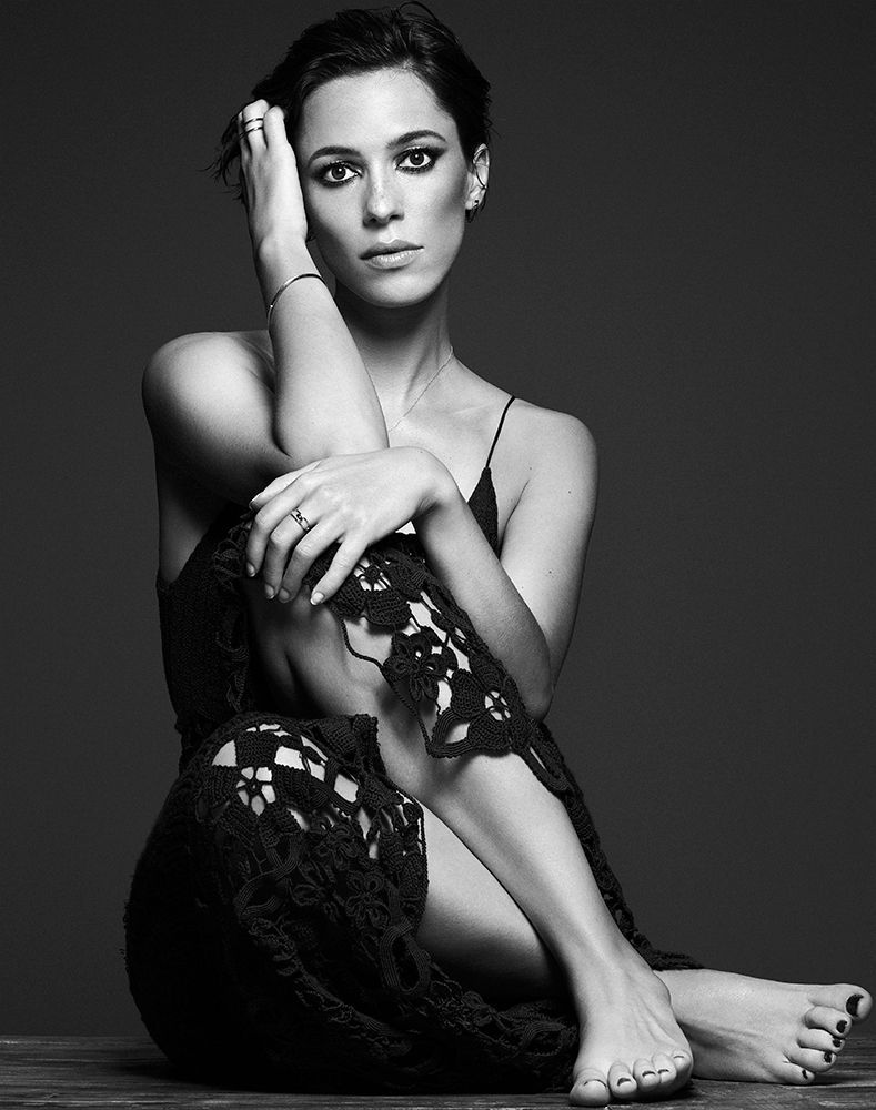 Rebecca Hall Photographed By Michael Schwartz For Interview Aug