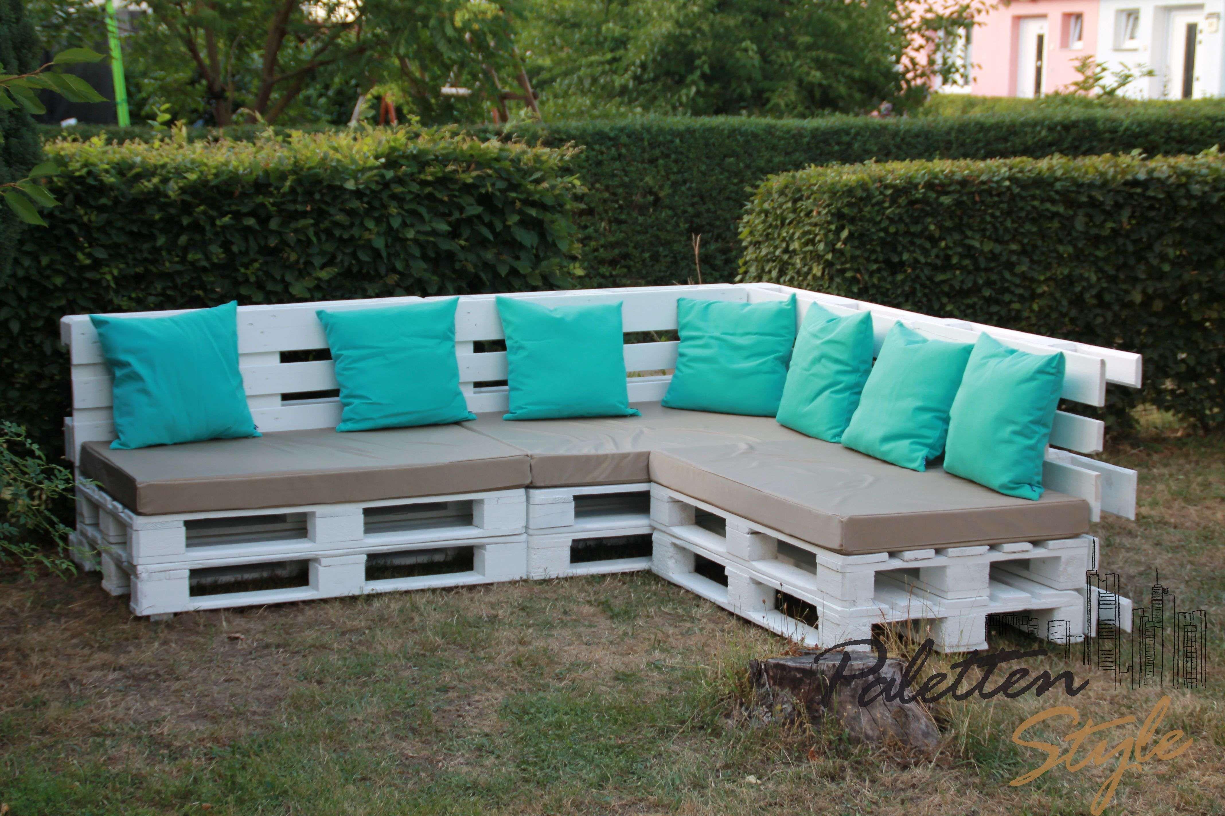 Paletten Lounge Selber Bauen Mit Gartenmöbel Möbel Aus Europaletten