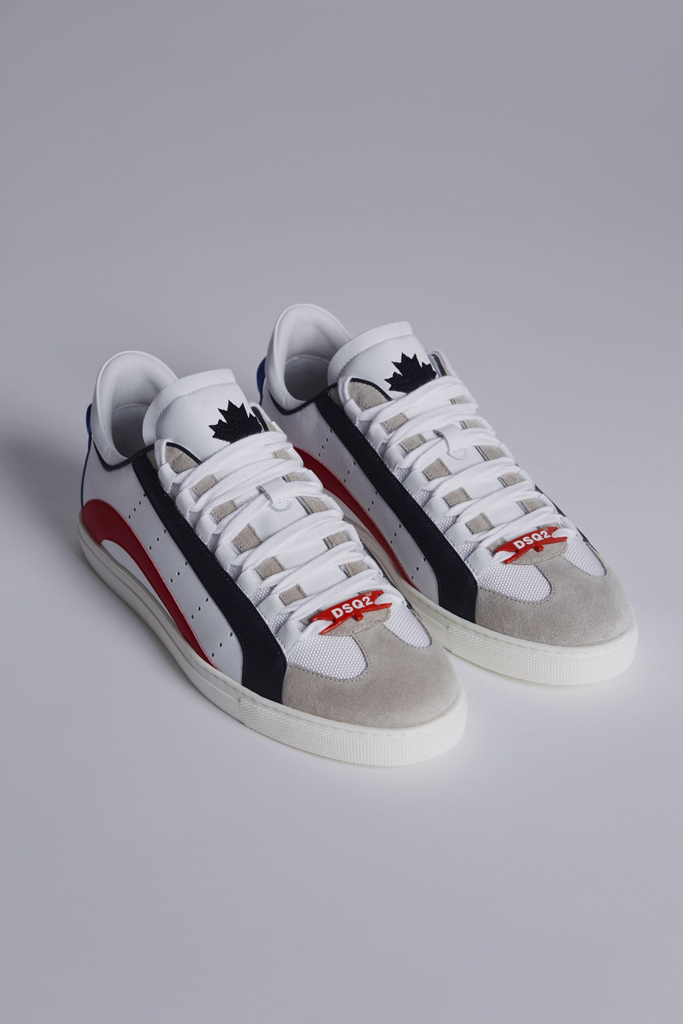 728c17f989c Dsquared2 551 Sneakers White - Sneakers for Men ...