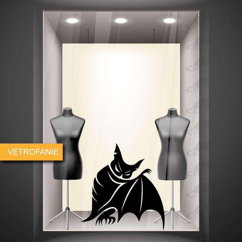 pipistrello - vetrofania di halloween http://www.santorografica.com/shop/halloween/1169-vetrofania-halloween-pipistrello.html