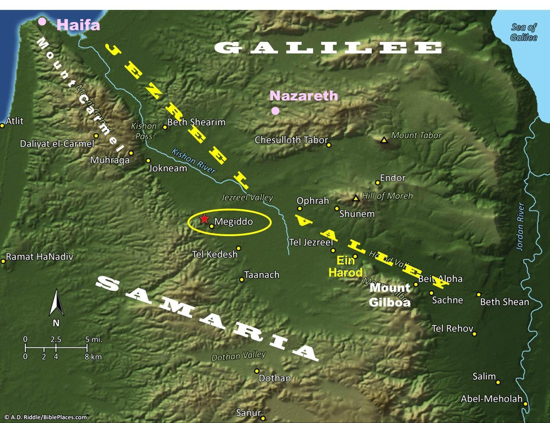 jezreel valley 294 best Biblical Sites u0026