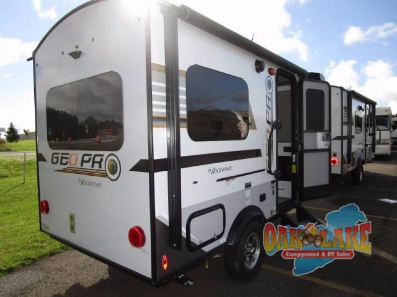 New 2018 Forest River Rv Rockwood Geo Pro 14fk Travel Trailer At