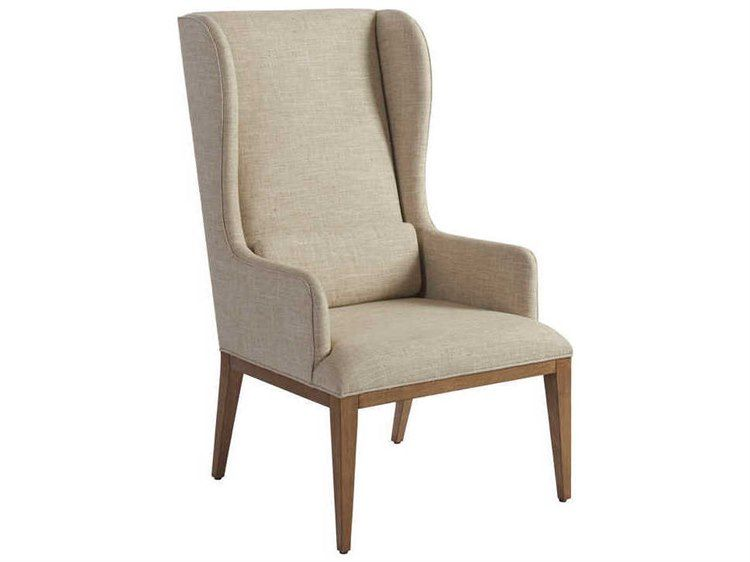wingback host dining chair