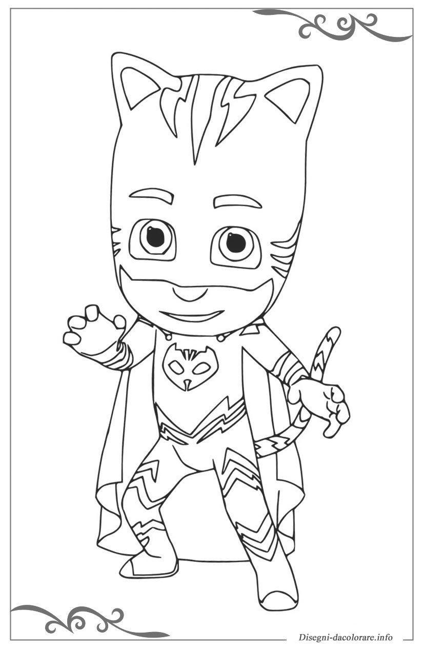 Pj Masks Super Pigiamini Disegni Da Colorare Per Bambini Sfoglia